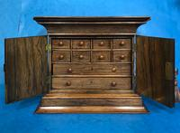 Anglo Chinese Solid Rosewood  Jewellery Cabinet (11 of 25)