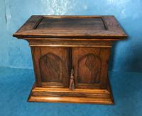 Anglo Chinese Solid Rosewood  Jewellery Cabinet (23 of 25)