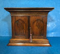 Anglo Chinese Solid Rosewood  Jewellery Cabinet (2 of 25)