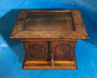 Anglo Chinese Solid Rosewood  Jewellery Cabinet (10 of 25)