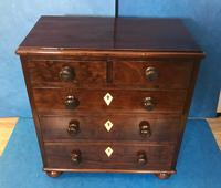 Victorian Mahogany Miniature Chest of Drawers (7 of 13)