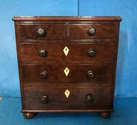Victorian Mahogany Miniature Chest of Drawers (12 of 13)