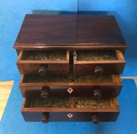 Victorian Mahogany Miniature Chest of Drawers (2 of 13)