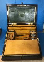 19th Century Superb French Brassbound Mahogany Writing Box (14 of 25)