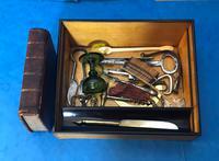 19th Century Superb French Brassbound Mahogany Writing Box (17 of 25)