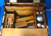 19th Century Superb French Brassbound Mahogany Writing Box (15 of 25)
