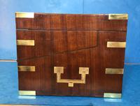 19th Century Superb French Brassbound Mahogany Writing Box (4 of 25)