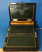 19th Century Superb French Brassbound Mahogany Writing Box (21 of 25)