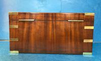 19th Century Superb French Brassbound Mahogany Writing Box (5 of 25)