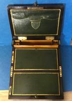 19th Century Superb French Brassbound Mahogany Writing Box (11 of 25)