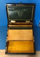 19th Century Superb French Brassbound Mahogany Writing Box (12 of 25)