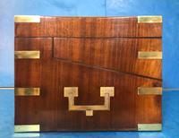 19th Century Superb French Brassbound Mahogany Writing Box (6 of 25)