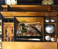 19th Century Superb French Brassbound Mahogany Writing Box (13 of 25)