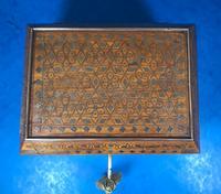 Indian Brass Inlaid Teak Box c.1920 (11 of 14)