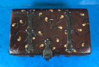Unusual 17th Century Style Painted & Bound with Iron (10 of 16)