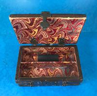 Unusual 17th Century Style Painted & Bound with Iron (14 of 16)