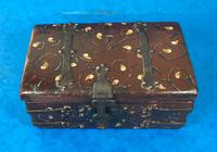 Unusual 17th Century Style Painted & Bound with Iron (9 of 16)