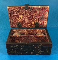Unusual 17th Century Style Painted & Bound with Iron (11 of 16)