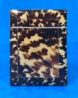 Victorian  Tortoiseshell Card Case with Pewter Inlay (2 of 8)