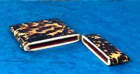 Victorian  Tortoiseshell Card Case with Pewter Inlay (6 of 8)
