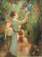 John Strevens Oil Painting 'The Orangery'