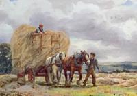 George Hamilton  Constantine Watercolour 'a Breezy Morning'