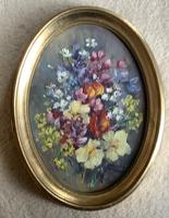 Phyllis Morgans Pair Oil Paintings 'Spring Posy' &'Spring Bunch' (3 of 3)