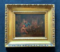 Follower of 'Jan Josef Horemans' Original 18th Century Flemish Oil Painting