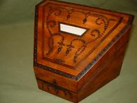French Stationery Box. Original Fitted Interior. Rare Condition c.1835