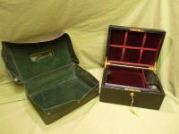 Leather Despatch - Jewellery Box. Immaculate Condition c.1900