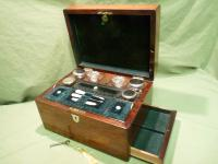 Fully Fitted Rosewood Jewellery – Vanity Box c.1870 (14 of 14)