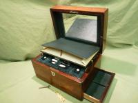 Fully Fitted Rosewood Jewellery – Vanity Box c.1870 (7 of 14)