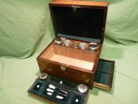 Fully Fitted Rosewood Jewellery – Vanity Box c.1870 (9 of 14)