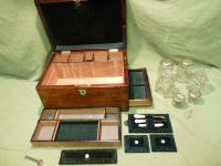 Fully Fitted Rosewood Jewellery – Vanity Box c.1870 (12 of 14)