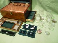 Fully Fitted Rosewood Jewellery – Vanity Box c.1870 (10 of 14)