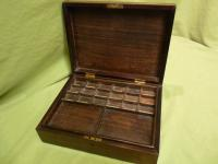 Solid Rosewood Artist Paint Box c.1880 (13 of 13)