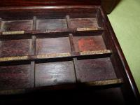 Solid Rosewood Artist Paint Box c.1880 (4 of 13)