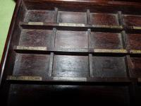 Solid Rosewood Artist Paint Box c.1880 (11 of 13)