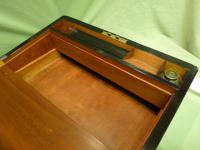 Brass Bound Burr Writing Box. Secret Drawers + More. C1870 (10 of 13)