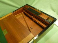 Brass Bound Burr Writing Box. Secret Drawers + More. C1870 (11 of 13)