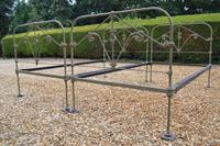 Rare Matching Pair of All Iron Large Single 3ft 6in Victorian Beds. Beds fully restored in your choice of colour
