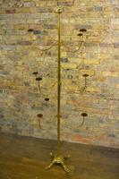 1920s Brass & Iron Hatstand