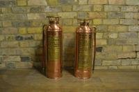 American Copper & Brass Fire Extinguishers C.1930