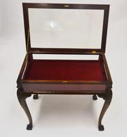 Walnut Display Cabinet c.1920 (2 of 6)