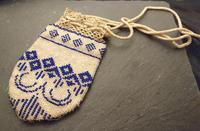 Antique Georgian Beadwork, Reticule Purse, Coin Pouch (6 of 6)