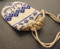 Antique Georgian Beadwork, Reticule Purse, Coin Pouch (5 of 6)