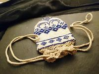 Antique Georgian Beadwork, Reticule Purse, Coin Pouch (4 of 6)