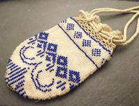 Antique Georgian Beadwork, Reticule Purse, Coin Pouch (3 of 6)
