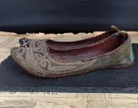 Antique Persian Slippers, 19th Century Shoes (3 of 9)