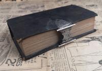 Antique Dutch Bible, 19th Century, Silver Clasp